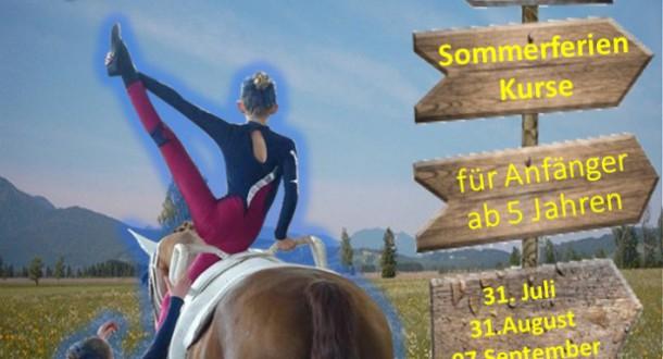 Sommerferien im Reitstall 2018